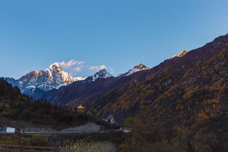 Mt Siguniang, four girls mountain, China