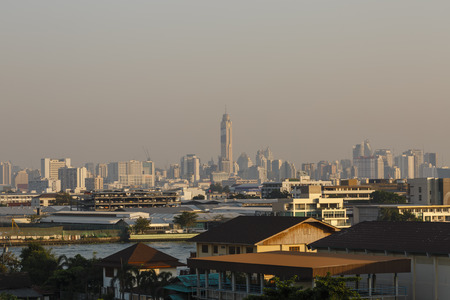 air pollution over Bangkok Thailand, PM2.5, Jan 2019