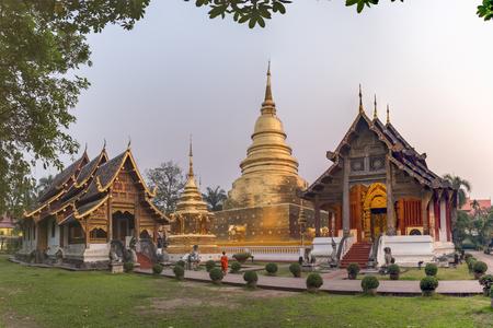 Royal monastery of the first grade, Wat Phra Singh Woramahaviharn, Changmai province, Thailand since 1935