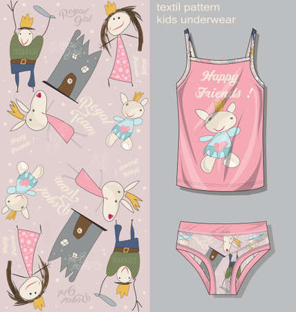 kids underwear template