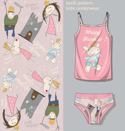 kids underwear template