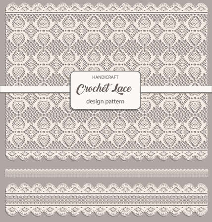 crochet lace design pattern
