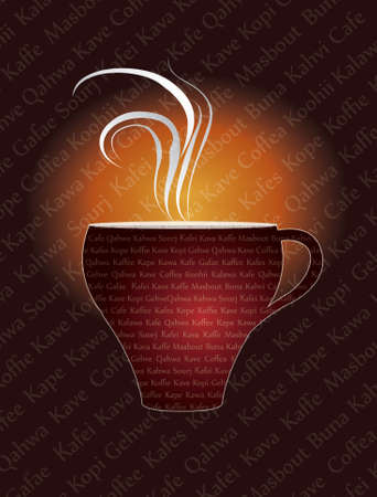 kafe: cup of caffe