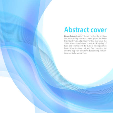 blend: Clean background with light blue gradient and blend. Business style or technology clean design. Modern vector backdrop with blue gradient and wave. Template cover or page