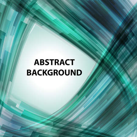 energy background: Abstract technology contour objects. Financial business presentation. Light futuristic concept, digital light turquoise. Vector modern background