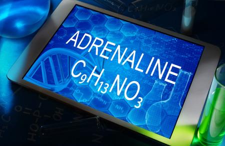 adrenaline: the chemical formula of adrenaline
