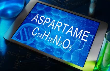 aspartame: aspartame Stock Photo