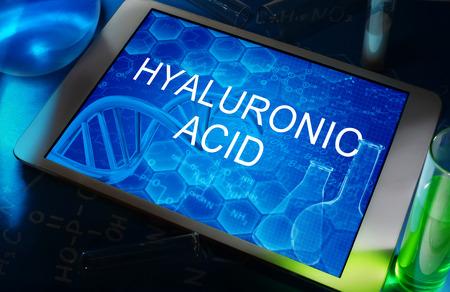 ヒアルロン酸 写真素材