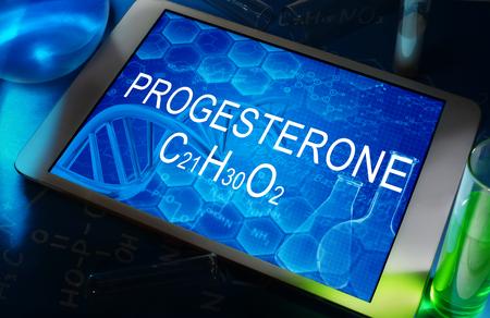 hormone: progesterone