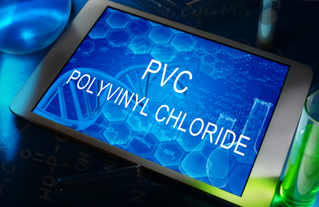 the chemical formula of Polyvinyl chloride pvc