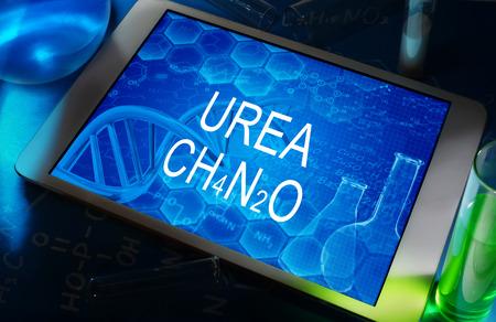 urea: the chemical formula of UREA