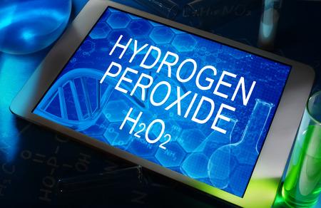 wasserstoff: Die chemische Formel von Wasserstoffperoxid