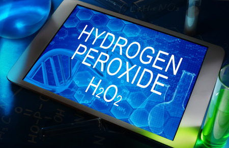 hidrogeno: La f�rmula qu�mica de per�xido de hidr�geno