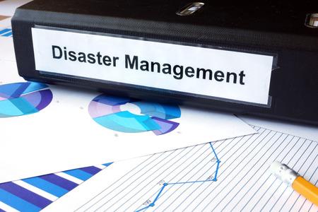 emergencia: Los gr�ficos y la carpeta de archivos con la Gesti�n de Desastres etiqueta.