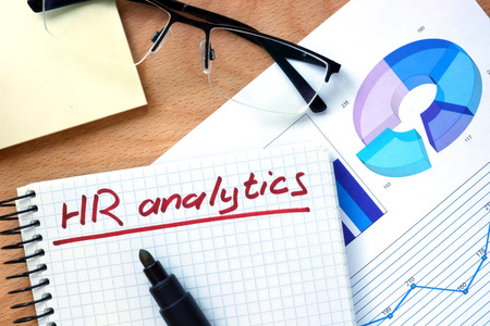 resource: Notepad with words hr analytics.