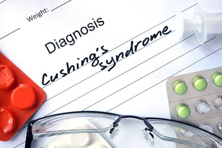 diagnosis: Diagnosis Cushings syndrome and tablets.