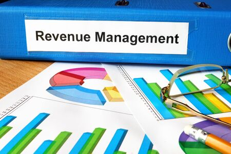 revenue: Folder with label Revenue Management and charts.