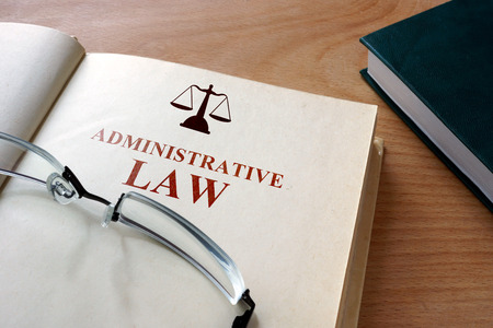 administrative: administrative law Stock Photo