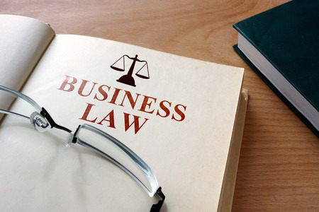 law business: business law Stock Photo