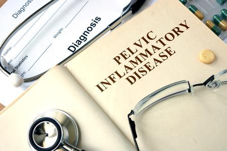 inflammatory: Word Pelvic inflammatory disease PID. Medical concept. Stock Photo