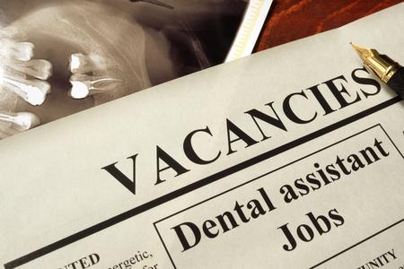 Journal avec annonces dentaire jobs assistant vacance.