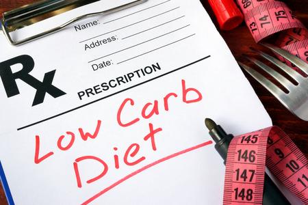 forma di prescrizione con la dieta low carb parole.