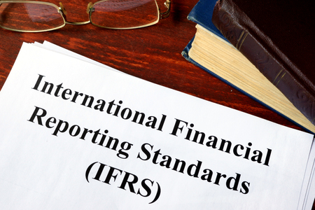 standards: Paper with title International Financial Reporting Standards (IFRS).