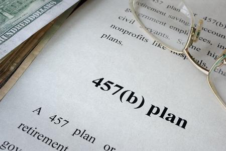 irc: 457(b) plan written in a document.