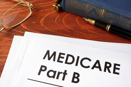 Document with title medicare part b.