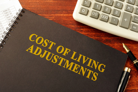 Book with title Cost of Living Adjustments (COLAs)