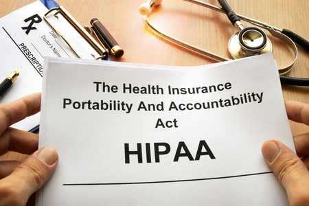 HIPAA.  The Health Insurance Portability and Accountability Act of 1996.