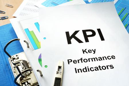 advice: Folder and documents with title KPI - Key Performance Indicator.