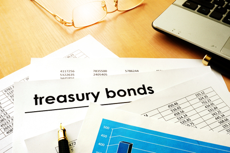 Papers with title treasury bonds.