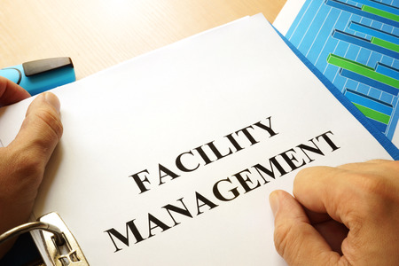 Folder with title Facility Management.