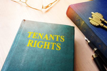 Tenants rights and keys from apartments. Stock Photo