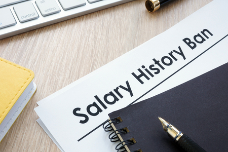Documents with title Salary history ban. Фото со стока