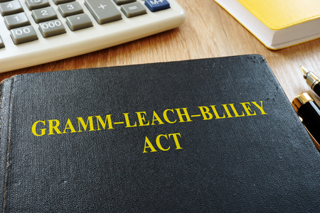 The Gramm-Leach-Bliley Act (GLBA) or Financial Services Modernization Act.