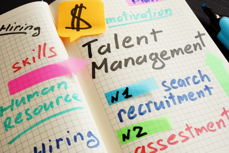 Talent Management System TMS written in note.