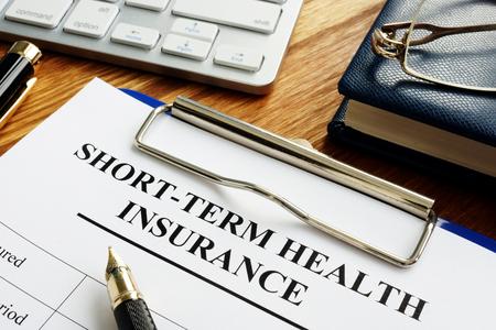 Short-term health insurance or Short Term Medical STM.
