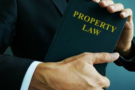 Property law in the hands of a lawyer.