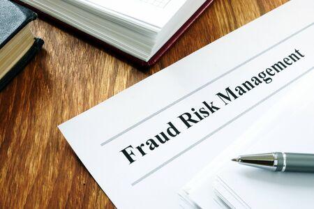 Documents about Fraud risk management and pen.