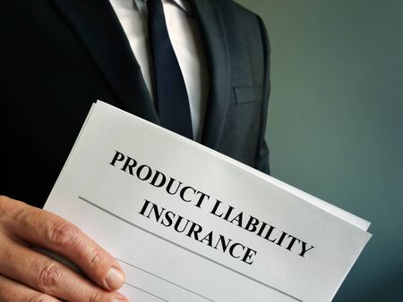 Manager is holding Product Liability Insurance policy. Imagens