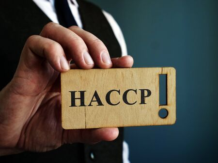 Hazard Analysis and Critical Control Points HACCP in the hands of a manager.