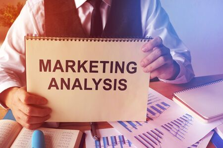 Marketing analysis report and business papers.