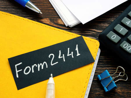 Form 2441 irs a reminder to submit tax statements.