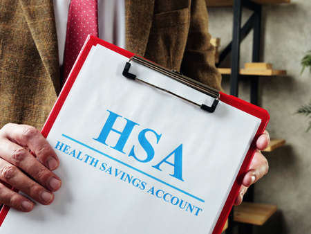 The manager offers documents about HSA Health savings account.