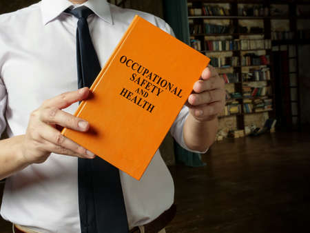 Occupational safety and health rules and regulations in the hands.