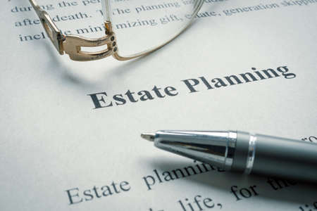 Information about Estate planning and old glasses.