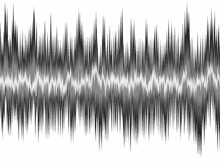 electronic background: A background with a loud sound scale.