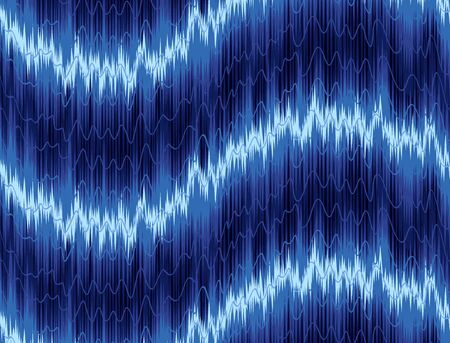 loud: background with a loud sound scale.